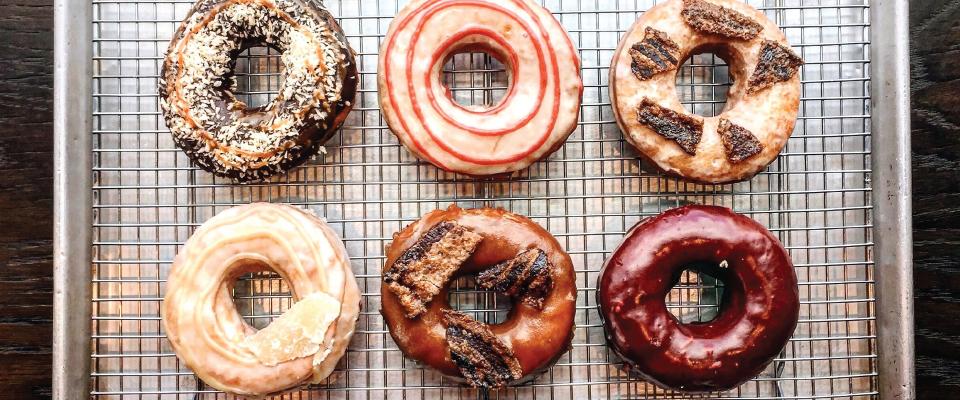 Vortex doughnuts - gourmet fried dough!